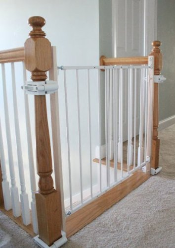 No Hole Stairway Baby Gate Mounting Kit By Safety Innovations : baby doors - pezcame.com