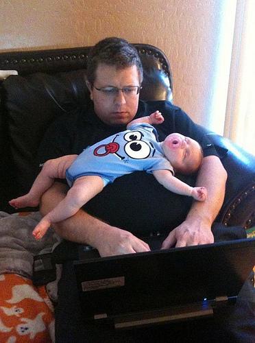 baby sleeping computer