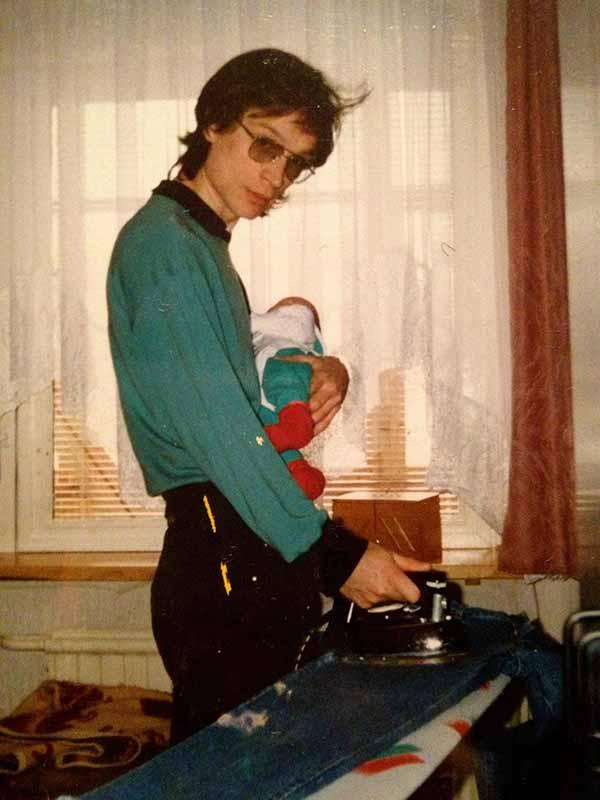 dad-ironing
